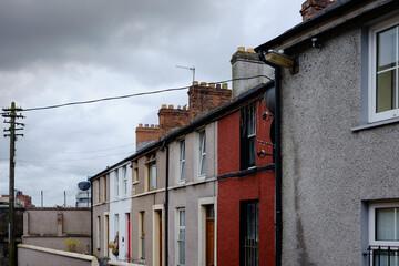 Coloured houses in Ireland