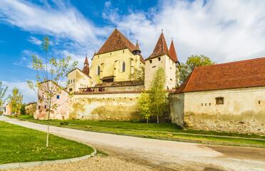 Wall Mural - Biertan fortified church in Sibiu,  Transylvania, Romania.