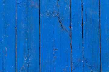 blue wooden door close-up, texture