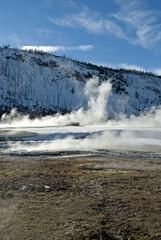 Black Sand Basin, Winter, Yellowstone NP