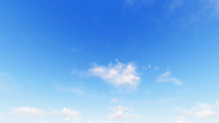 Cloudy blue sky abstract background, 3d illustration
