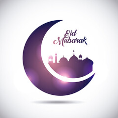 eid mubarak background icon vector illustration design graphic