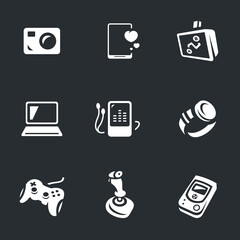 Vector Set of Gadgets Icons.