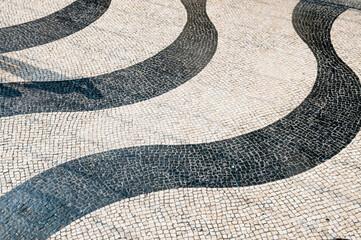 Tile brick floor in macau