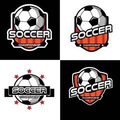 Soccer logo, Emblem soccer, American logo