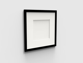 blank picture frame