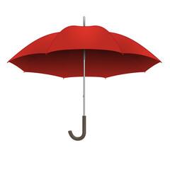 parapluie - rouge - assurance - météo - protection -symbole - pluie