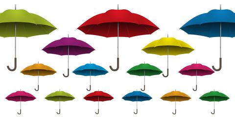 parapluie - fond - arrière plan - coloré - multicolore - couleurs