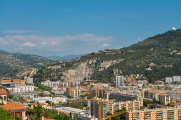 Wonderful panoramic view of Nice