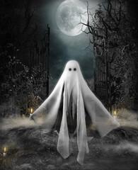 Halloween Concept Ghost