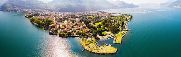Dervio - Lago di Como (IT) - Vista Aerea panoramica Wall mural