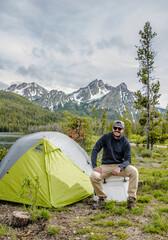 Jason at Lake Stanley