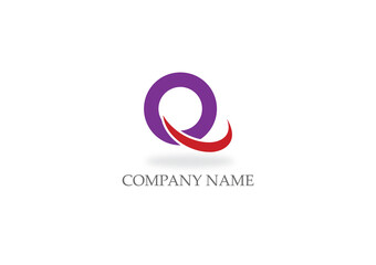 round letter q company logo