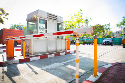 Barrier Gate Automatic system for security