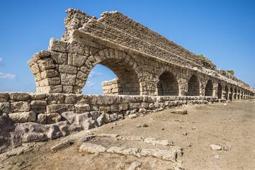 Акведук в древней Кесарии
