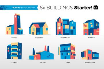 Mondo Vettoriale - Edifici Starter Kit