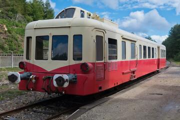 Vintage Diesel Railcar