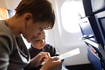 Family on the flight