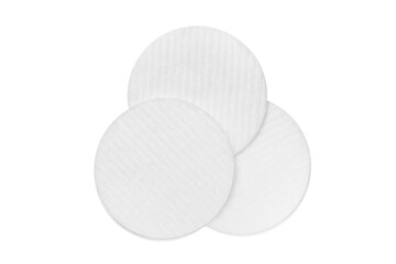 Cotton pads isolation