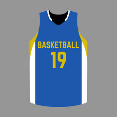 Isolated sport uniform
