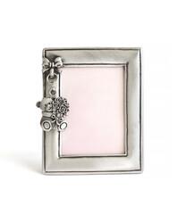 Silver children's photo frame