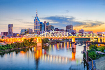 Nashville, Tennessee, USA Fotomurales