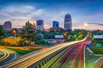 Fototapete - Winston-Salem, North Carolina, USA