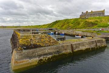 Schottland - Keiss Hafen