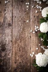 Schneeball auf Holztisch No4