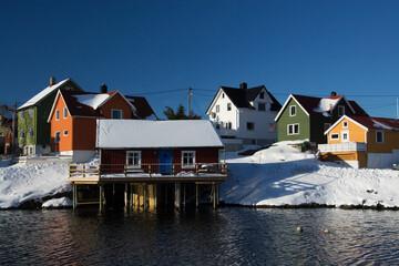 Photo sur Aluminium Pôle henningsvaer, Norwegen