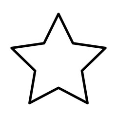 star funny comic cartoon decoration icon vector illustration