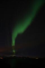 Polarlichter bei Bremnes, Harstad, Norwegen