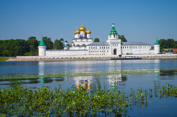 KOSTROMA, RUSSIA - July, 2016: Ipatyevsky Monastery in summer day
