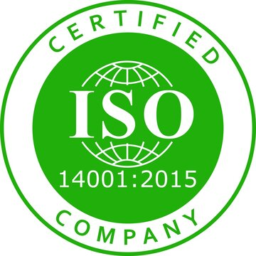 ISO 14001 new 2015 version certified company