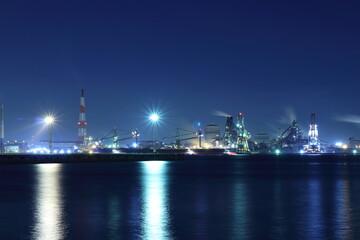 名港トリトンの工場夜景