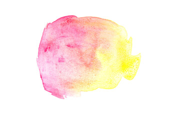 Abstract water color hand painted background