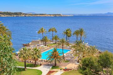 Spoed Fotobehang Cyprus The coast of Mallorca