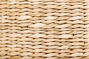 Straw basket texture