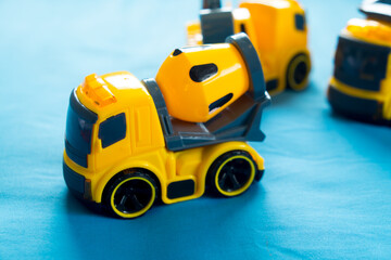 Construction machinery toy