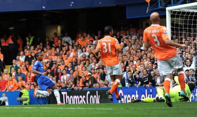 Chelsea v Blackpool Barclays Premier League