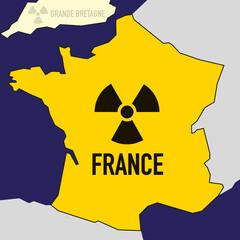nucléaire - France - puissance - bombe atomique - carte - guerre