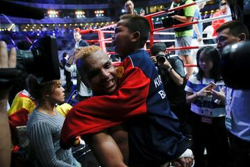 Boxing - Amnat Ruenroeng of Thailand v John Riel Casimero of Philippines
