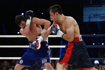 Darren Barker v Felix Sturm IBF Middleweight Title