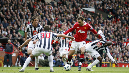 Manchester United v West Bromwich Albion Barclays Premier League
