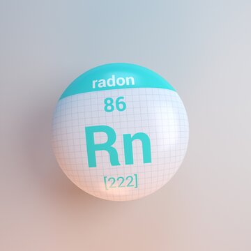 3D rendering periodic table icon