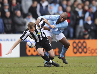 Notts County v Manchester City FA Cup Fourth Round