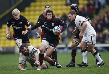 Saracens v Newcastle Falcons 2008/09 European Challenge Cup Quarter Final