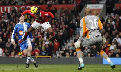 Manchester United v Wigan Athletic Barclays Premier League