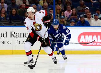 NHL: Ottawa Senators at Tampa Bay Lightning