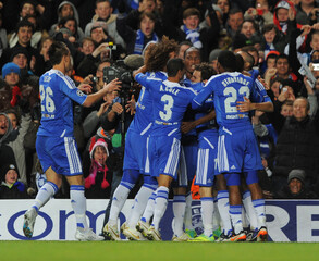 Chelsea v Valencia UEFA Champions League Group Stage Matchday Six Group E